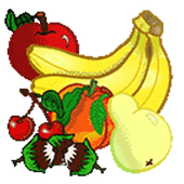 Draw Fruits in colors by Number Pixel Art icon