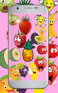 Draw Fruits in colors by Number Pixel Art poster