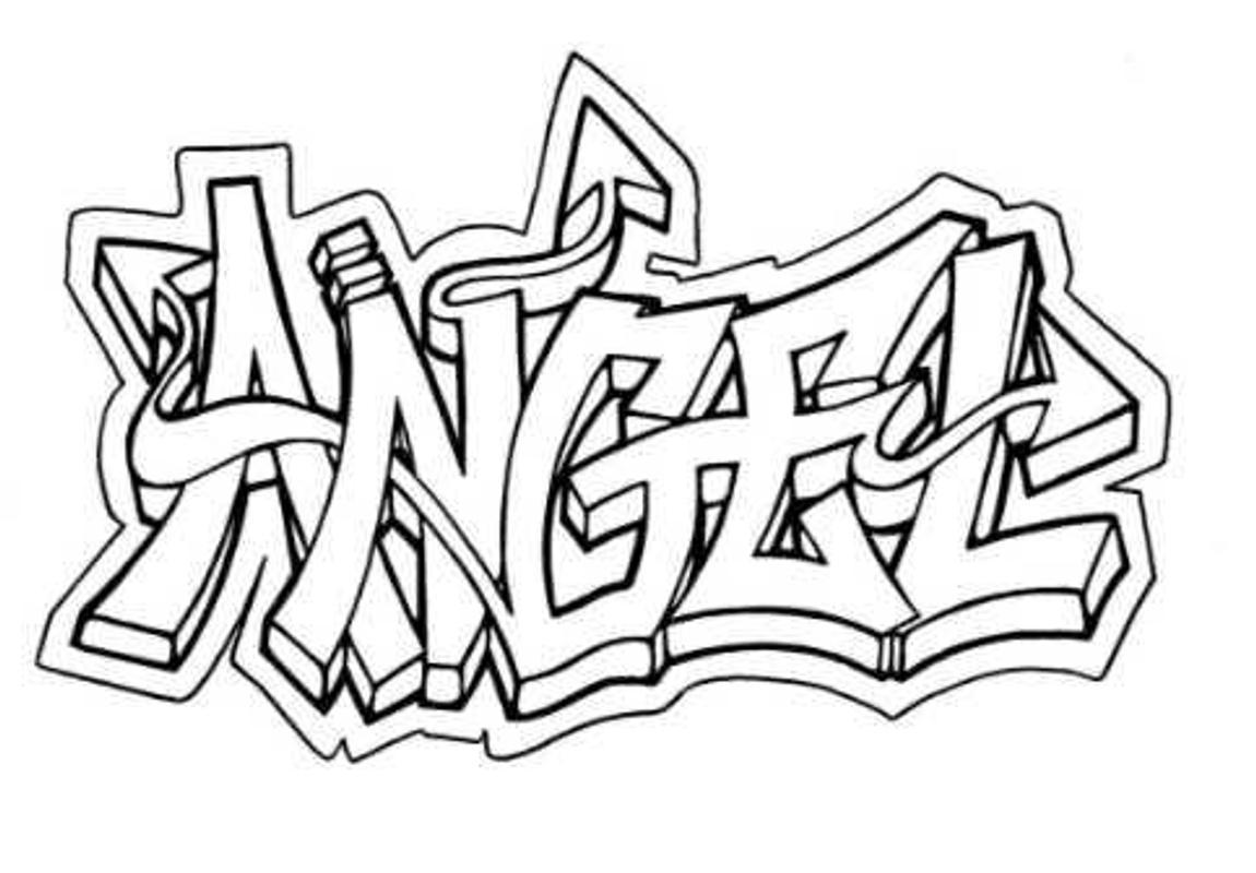 Menggambar graffiti letters screenshot 14