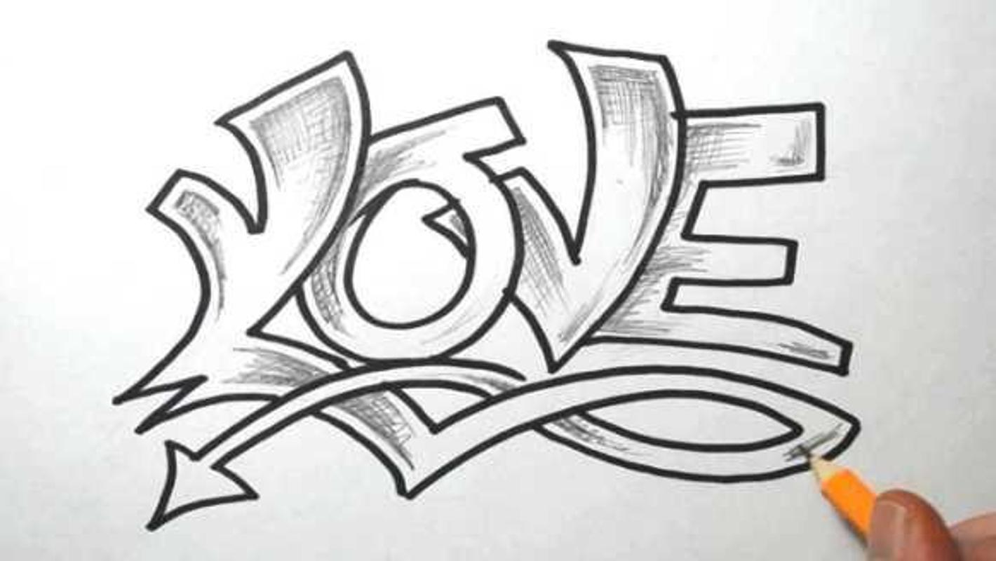Draw Graffiti Letters For Android Apk Download