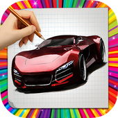 How to draw Car icon
