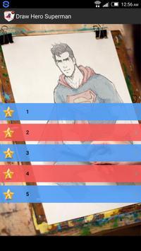 Draw Hero Superman poster