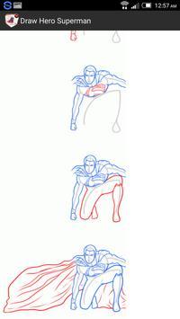 Draw Hero Superman apk screenshot