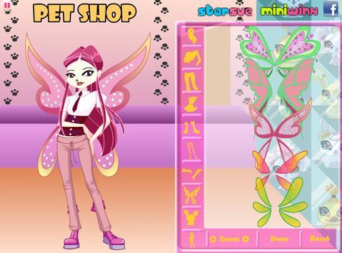 Chibi Winx Roxy Dress Up poster