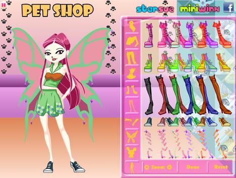 Chibi Winx Roxy Dress Up apk screenshot