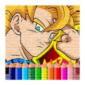 How Drawing Super Saiyan Goku icon