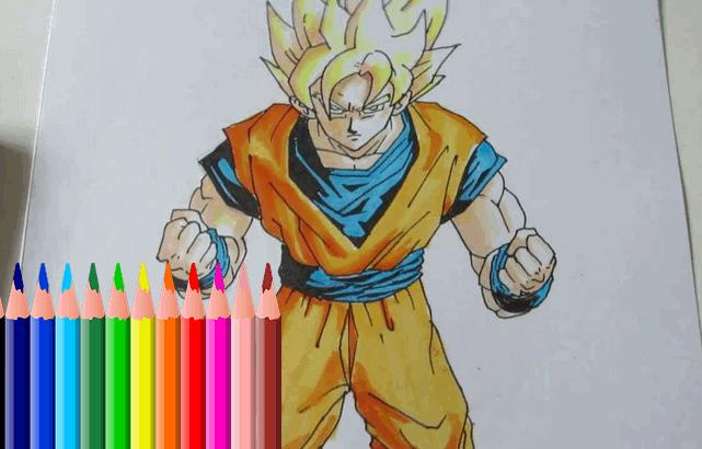 How Drawing Super Saiyan Goku For Android Apk Download
