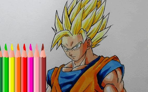How Drawing Super Saiyan Goku apk screenshot