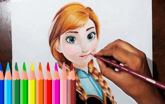 How to Drawing Frozen poster