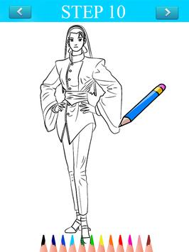 How To Draw King of Fighters apk screenshot