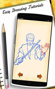 How to Draw StarWars apk screenshot