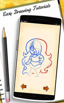 How to Draw Steve Univer apk screenshot