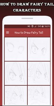 How To Draw Fairy Tail Characters screenshot 5