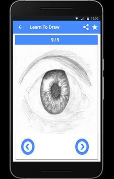 How to Draw Eyes screenshot 1