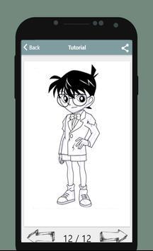 How To Draw Detective Conan apk screenshot
