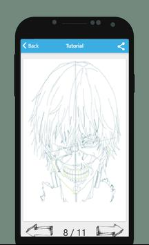 How to Draw Tokyo Ghoul apk screenshot