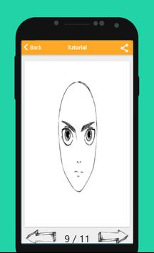 How To Draw Attack On Titan apk screenshot