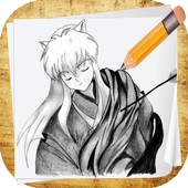 Learn How To Draw Inuyasha icon