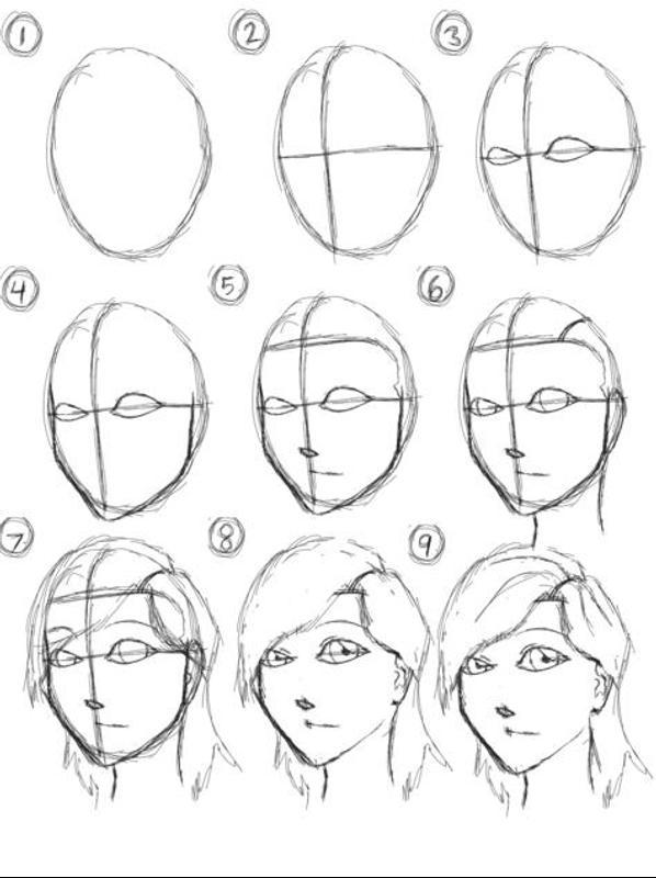 Line Art Design Tutorial : Simple drawing tutorials apk download gratis gaya hidup