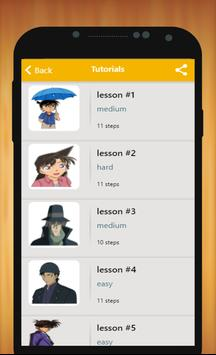 How to Draw Detective Conan Characters poster