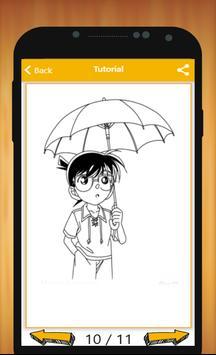 How to Draw Detective Conan Characters apk screenshot