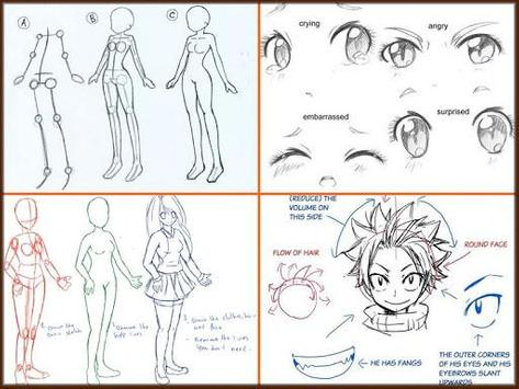 Drawing anime step by steps poster drawing anime step by steps screenshot 1