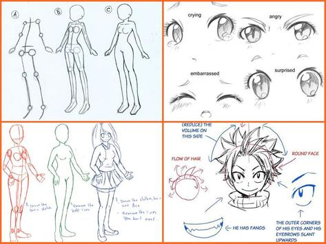 How To Draw A Anime Step By Step