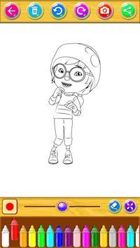 coloring cartoon for kids apk screenshot