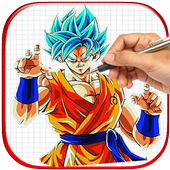 How To Draw DBZ super icon