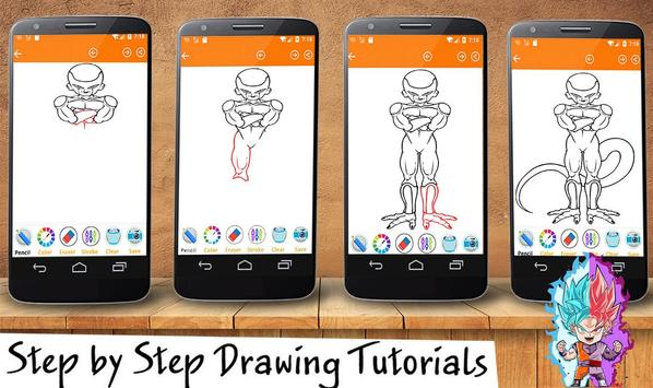 How To Draw DBZ super poster