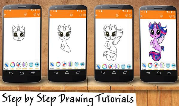 Little Pony Drawing App poster