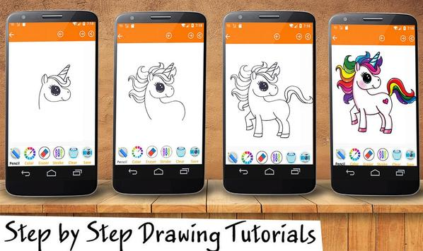 Little Pony Drawing App apk screenshot