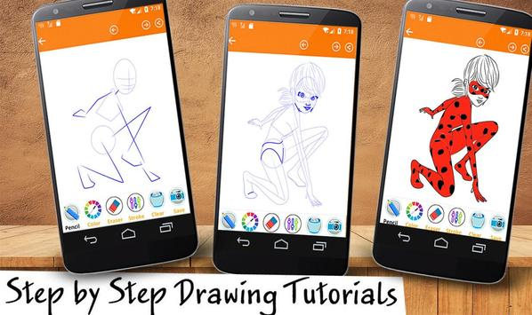 Learn To Draw LadyBug poster