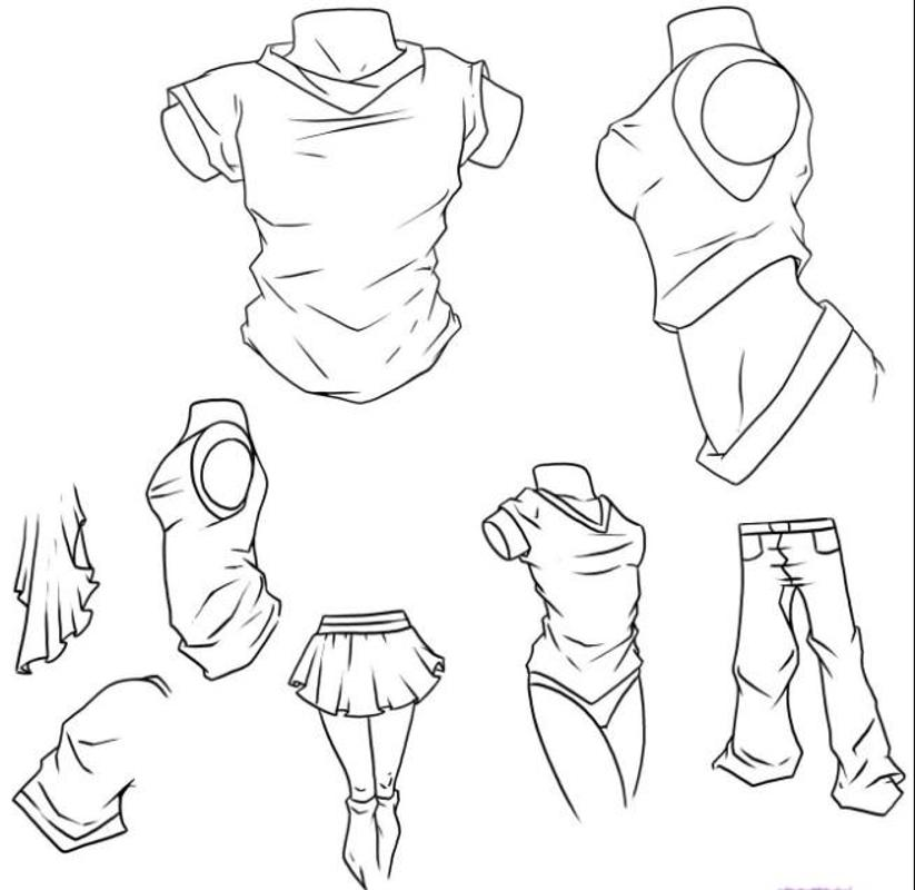 drawing clothes tutorial for android apk download