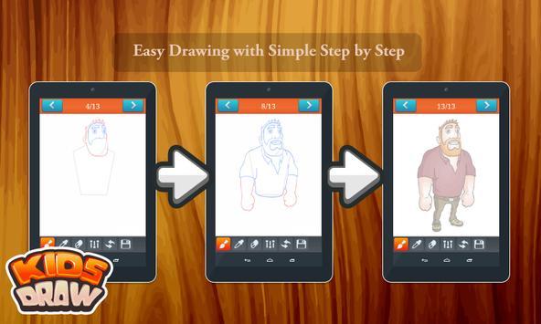 Learn to Draw Farm's Animal apk screenshot