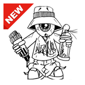300 Drawing Graffiti Characters For Android Apk Download