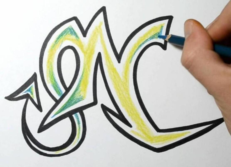Graffiti-Buchstaben zeichnen für Android - APK herunterladen