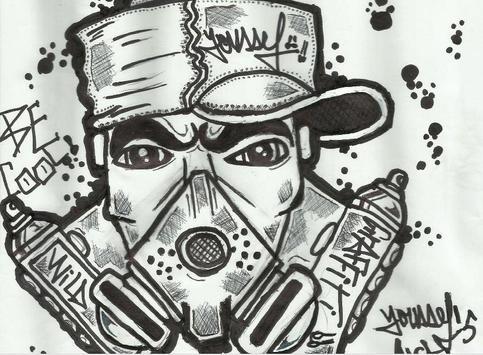 Drawing Graffiti for Beginners apk screenshot