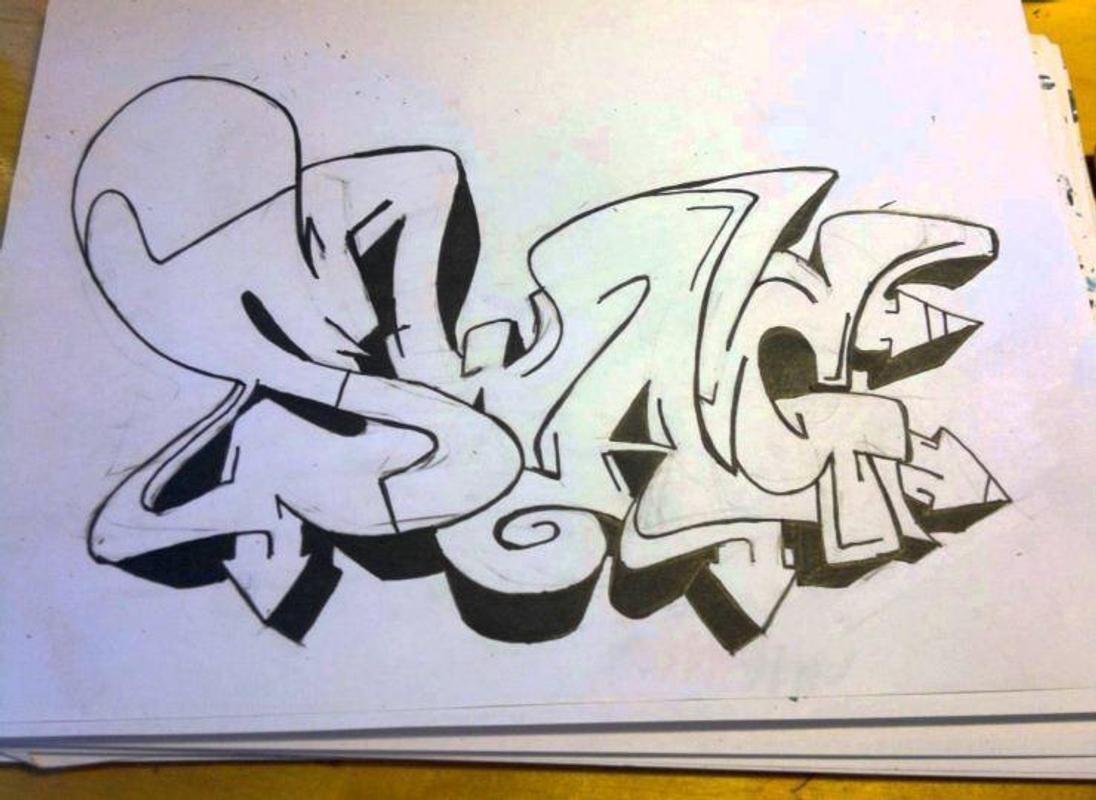 Gambar grafiti untuk pemula screenshot 5