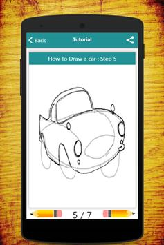 How To Draw Cars apk screenshot