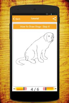 How To Draw Dogs screenshot 1