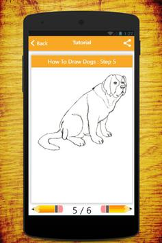 How To Draw Dogs screenshot 2