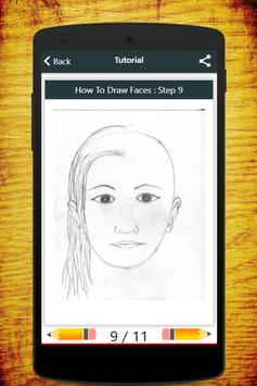 How To Draw Faces screenshot 9
