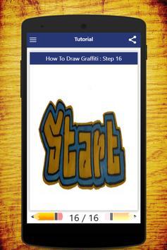 How To Draw Graffiti screenshot 3