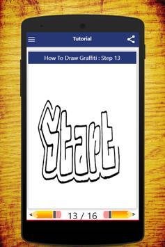 How To Draw Graffiti screenshot 1