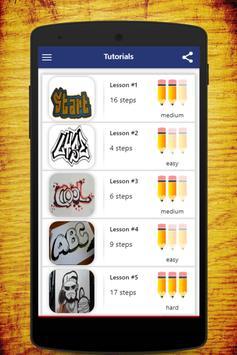 How To Draw Graffiti screenshot 7
