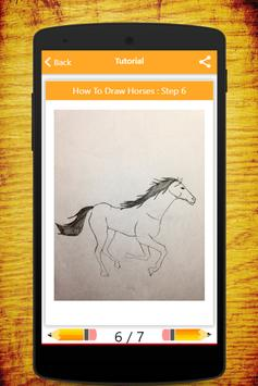 How To Draw Horses screenshot 5