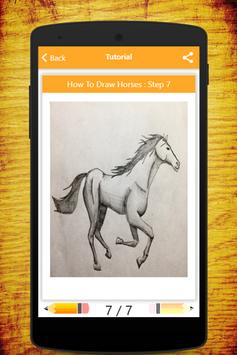 How To Draw Horses screenshot 6