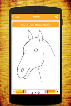 How To Draw Horses screenshot 8