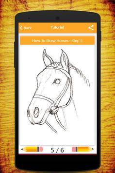 How To Draw Horses screenshot 16